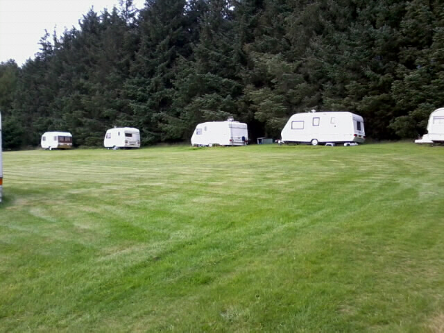 The camping field at Sunnybroom